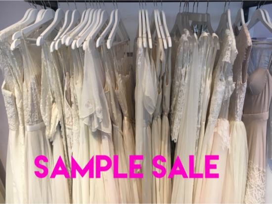 Brautkleider Sample Sale am 8. und 9. September